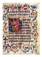 Textura Alphabet and Lord's Prayer in Latin
