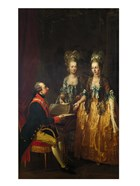 Portrait of Emperor Joseph II at the Piano with His Sisters Maria Anna and Maria Elisabeth