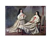 Mother Catherine-Agnes Arnault and Sister Catherine de Sainte Suzanne de Champaigne