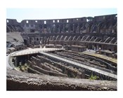 The Colosseum in Rome side view