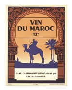 Morocco's Wine Label