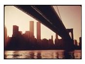 Brooklyn Bridge Across the East River