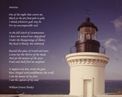 Invictus Poem (lighthouse)