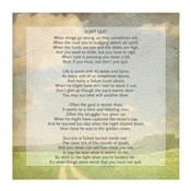 Don't Quit Poem (field)