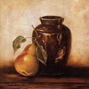Crock with Pears