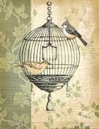 Botanical Birdcage I