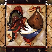 Tuscan Rooster Sq I