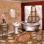 Leopard Florentine Bath