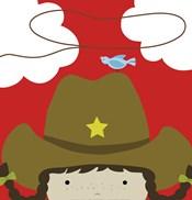 Peek-A-Boo Cowgirl