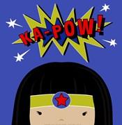 Peek-A-Boo Supergirl