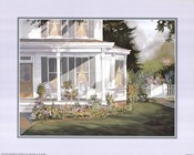 Steve Zazenski - Screened in Porch with Garden Size 16x20