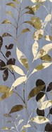 Leaves On Blue I