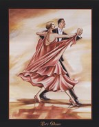 Dancers II (Red)