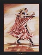 Dancers II (Red)