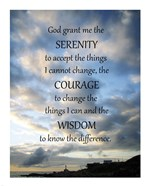 Serenity Prayer - skies