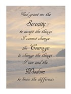Serenity Prayer - landscape