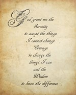 Serenity Prayer - quote