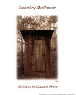 Country Outhouse