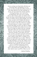 Rudyard Kipling - If