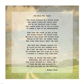 Robert Frost Road Less Traveled Poem