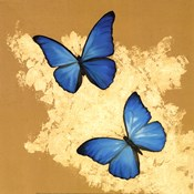 Cerulean Butterfly I