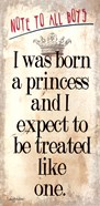 Born a Princess