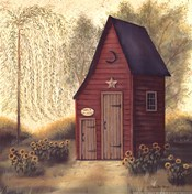 Folk Art Outhouse II