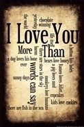 I Love You More I