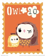 Animal Stamps - Owl