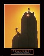 Teamwork-Sunset Climbers