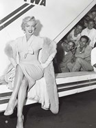 Marilyn Monroe in Airport