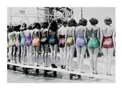 Coney Island Line Up, 1935