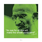 Mahatma Gandhi- Blind World