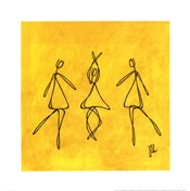 Joy - Yellow Dancers