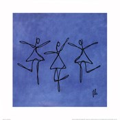 Peace - Blue Dancers