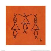 Hope - Orange Dancers
