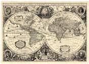 Vintage World Map - Orbis Geographica