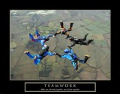 Teamwork-Skydivers II