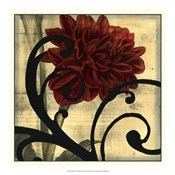 Dahlias &amp; Scrolls III