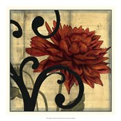 Dahlias &amp; Scrolls IV