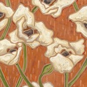 Persimmon Floral I