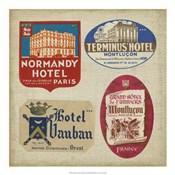 Vintage Travel Collage III