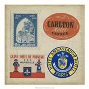 Vintage Travel Collage IV