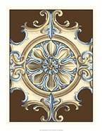 Ornamental Rosette I