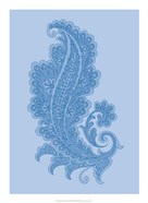Porcelain Blue Motif I