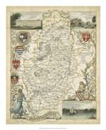 Map of Nottinghamshire