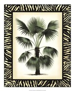 Palm in Zebra Border II