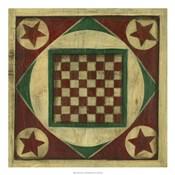Antique Checkers