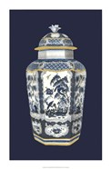Asian Urn in Blue & White II