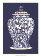 Blue & White Porcelain Vase I